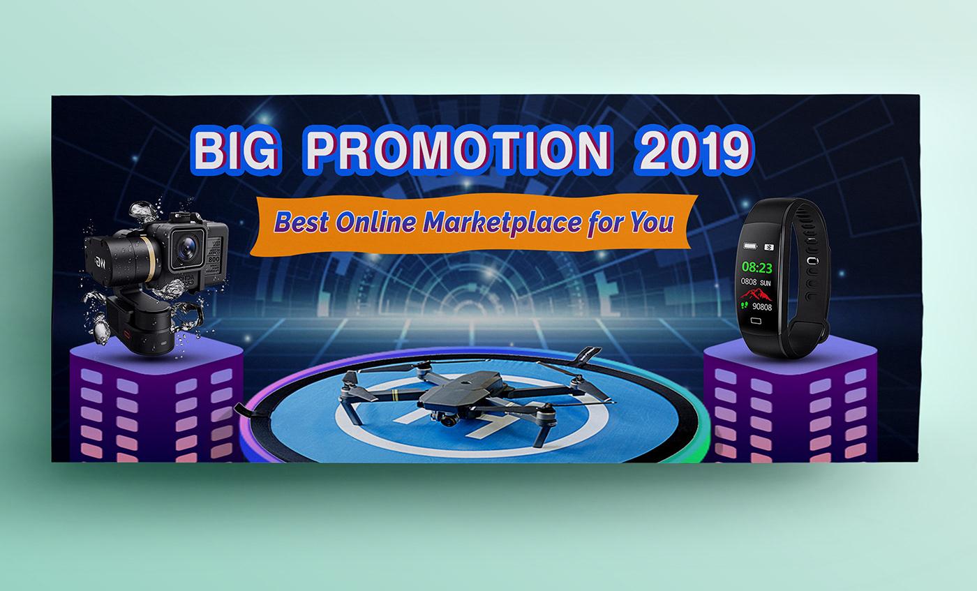 Electronics Web Banner Design On Behance