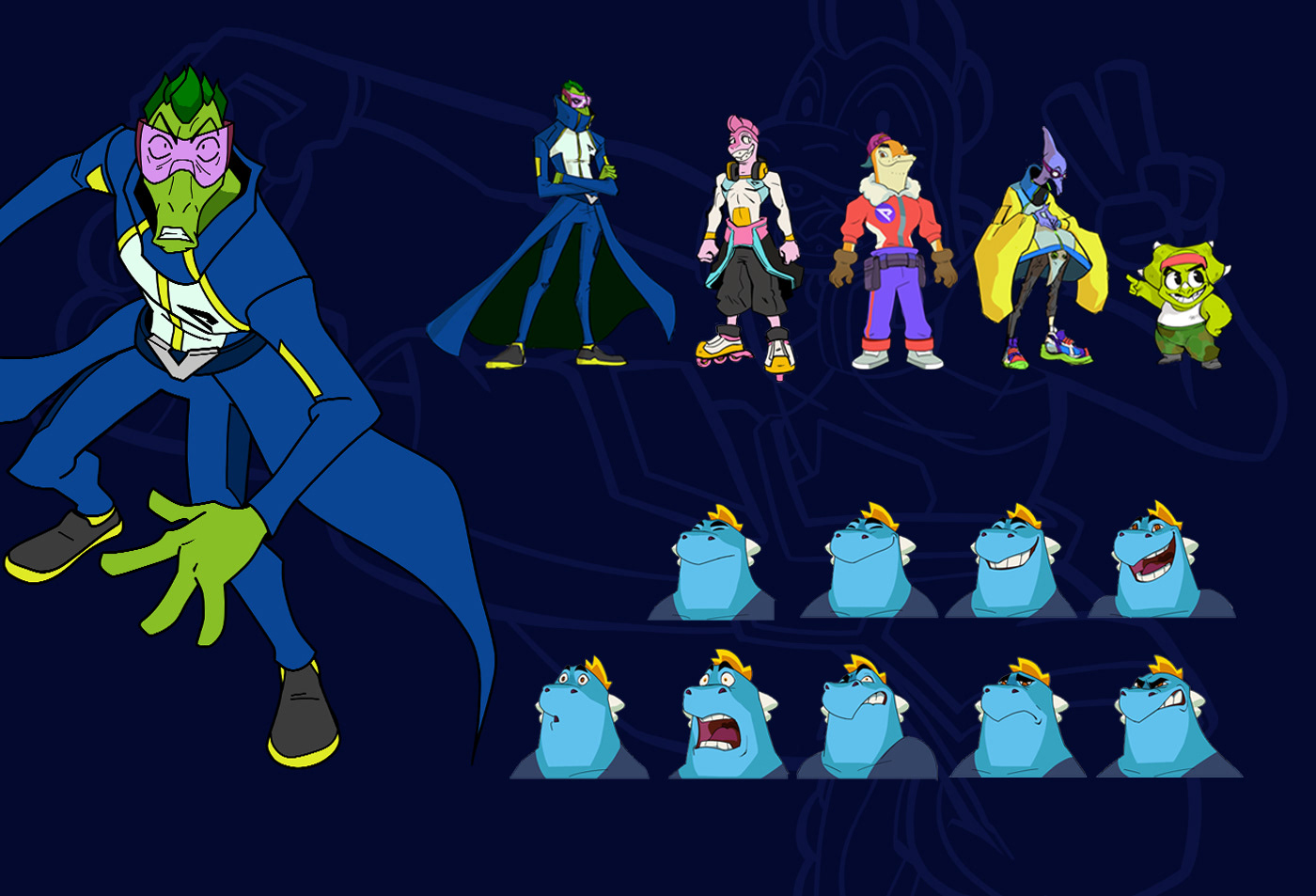 2D 3D animation  cartoon Character design  ekipa Friz music video na zajawce pigeon