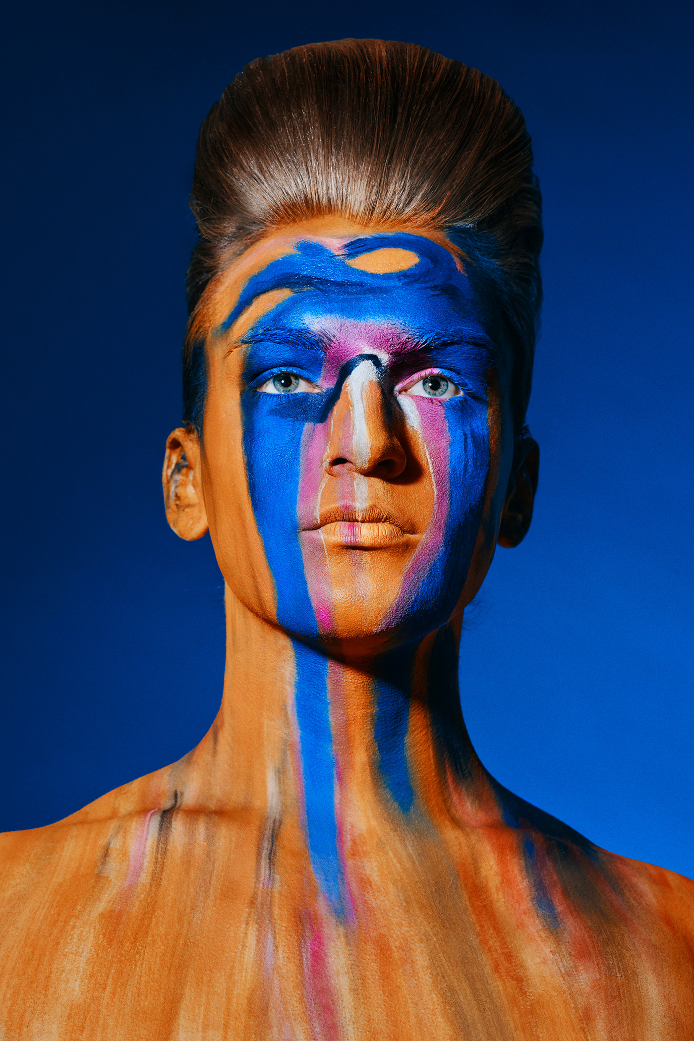 beauty editorial hairstyle magazine makeup model Photography  portrait studio video