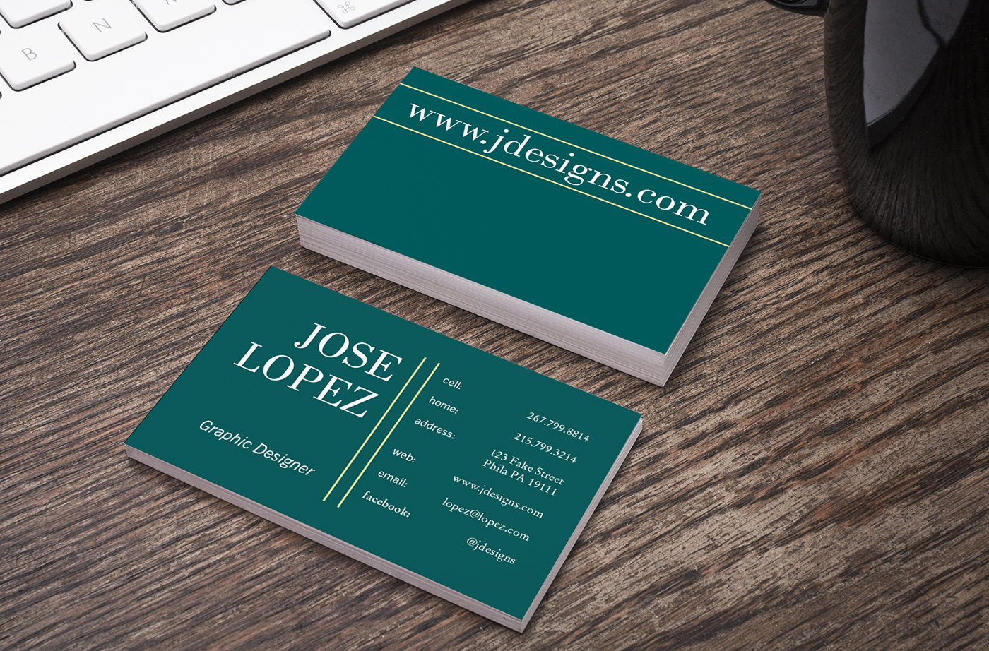 Art230 project02 business card on behance title font family bodini mt std style book size 2810 contact informationgraphic designer font family trade gothic next lt pro style italic colourmoves