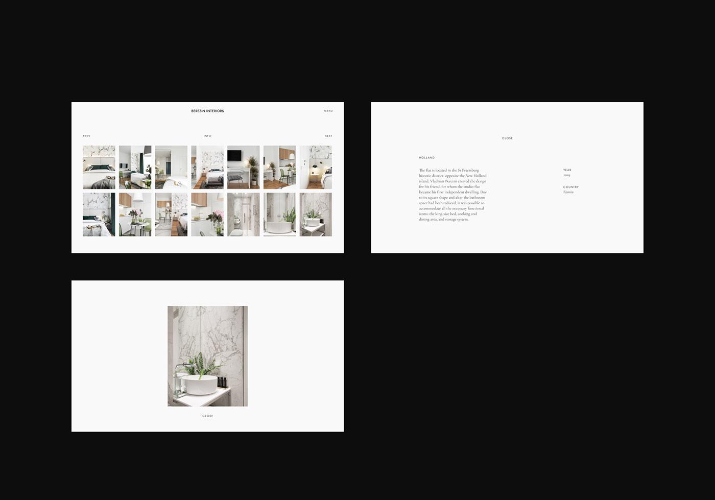 architecture Architecture website Designer Portfolio interior design  interior design website interior designer Minimalism minimalist web design minimalist website white design