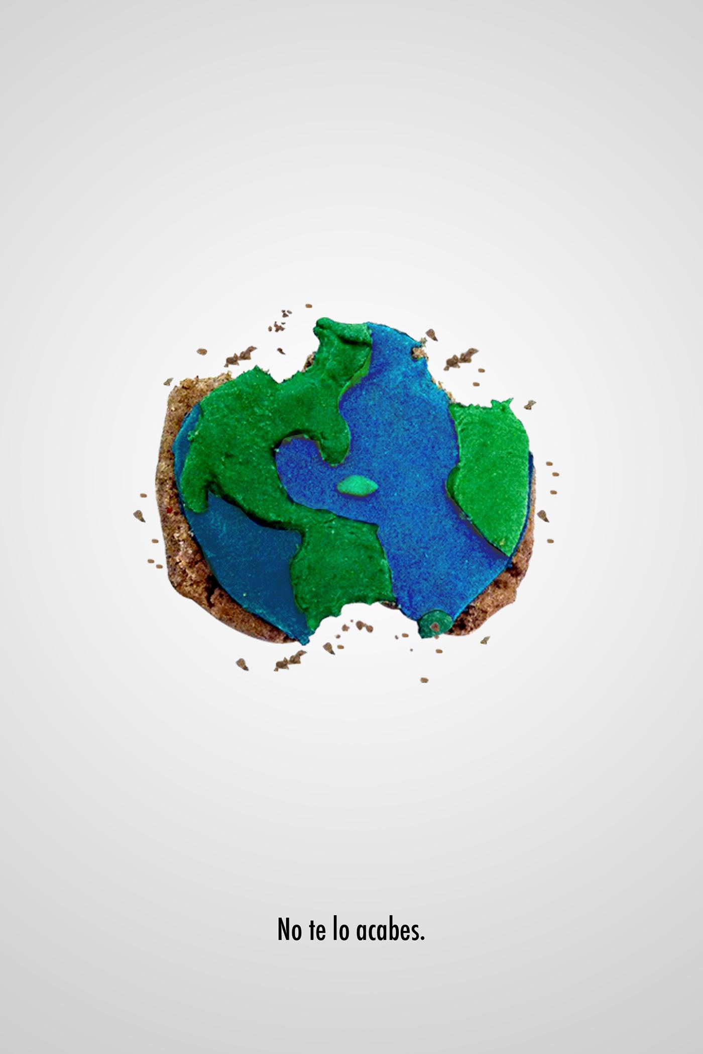 有創意感的12個愛護地球海報欣賞