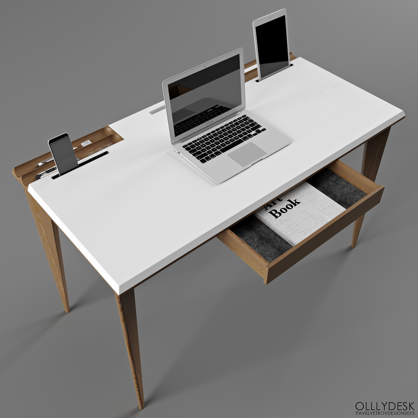 Ollly Desk vetrov design
