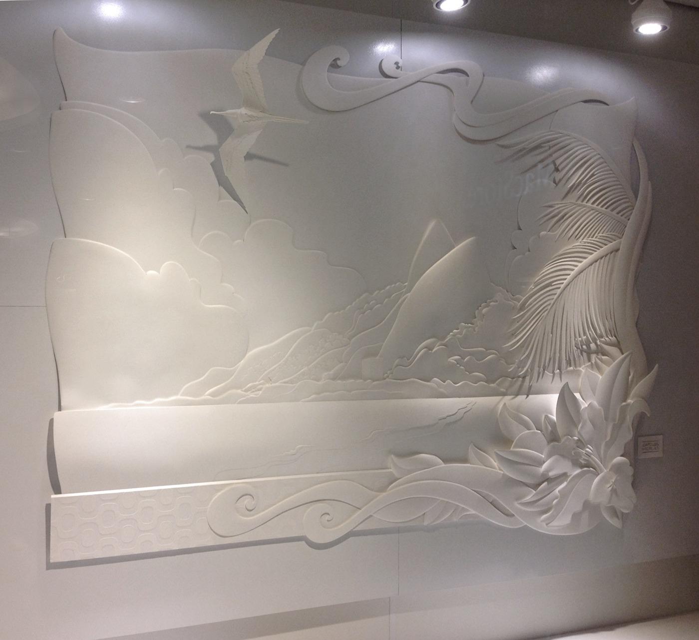 優秀的27個立體紙雕作品欣賞