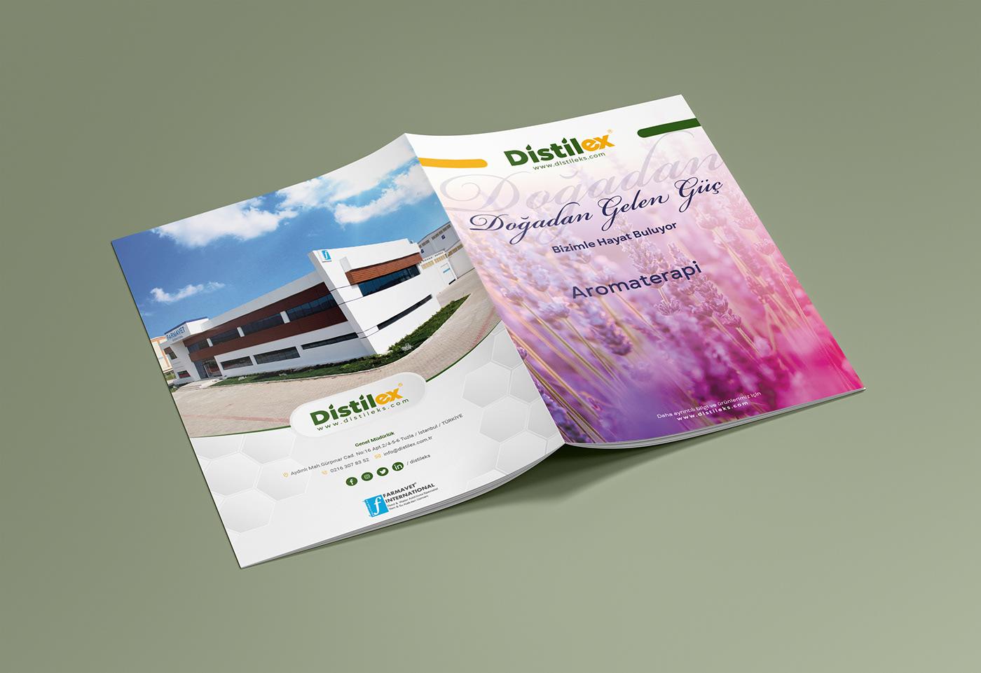 brochure broşür catalog daily design Farmavet katalog magazine YEC
