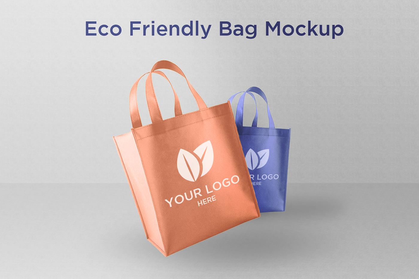 bag Mockup bag mockup shopping bag free mockup  clean design minimalistic simple free