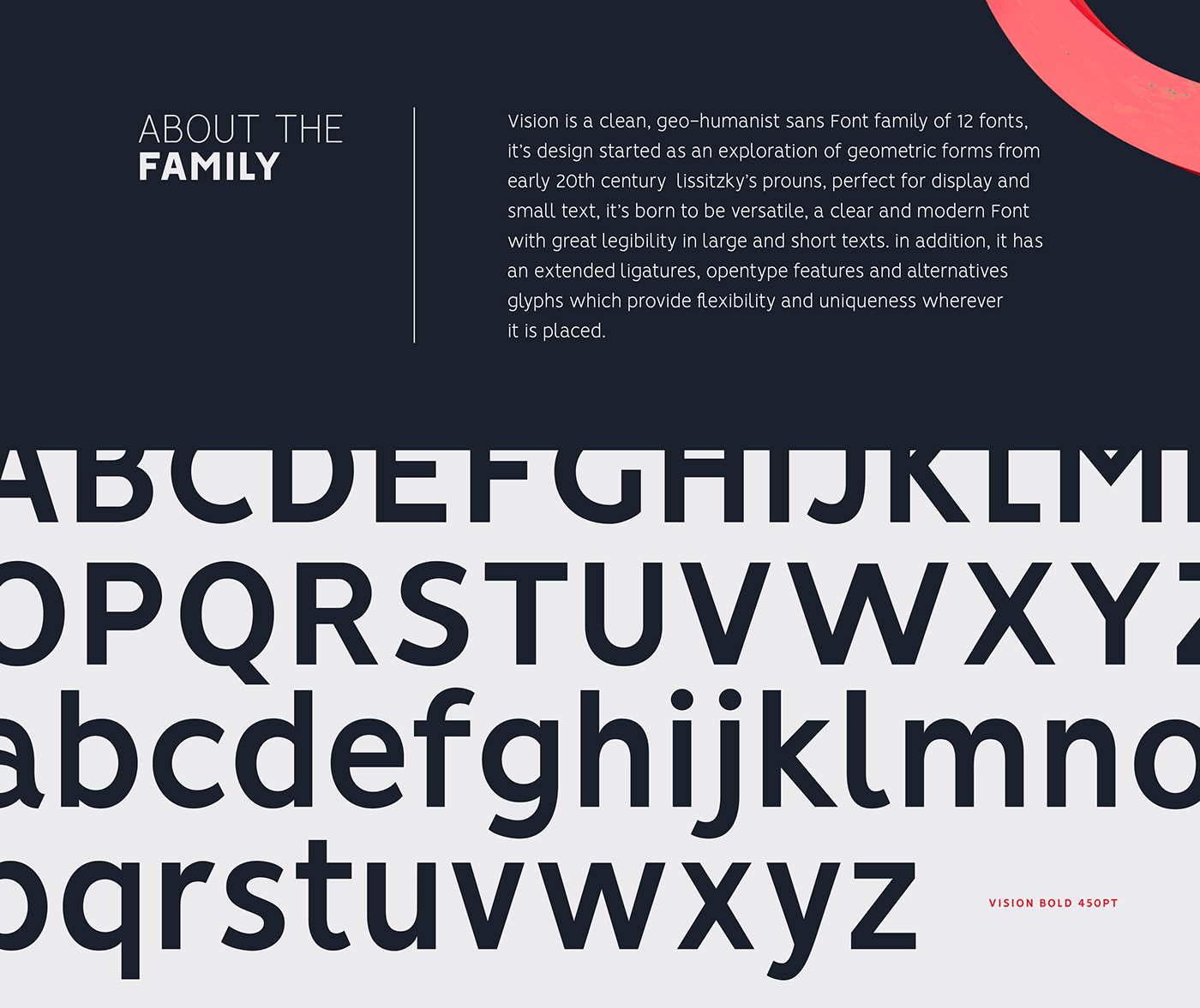 VISION - FREE FONT FAMILY (12 FONTS) on Behance