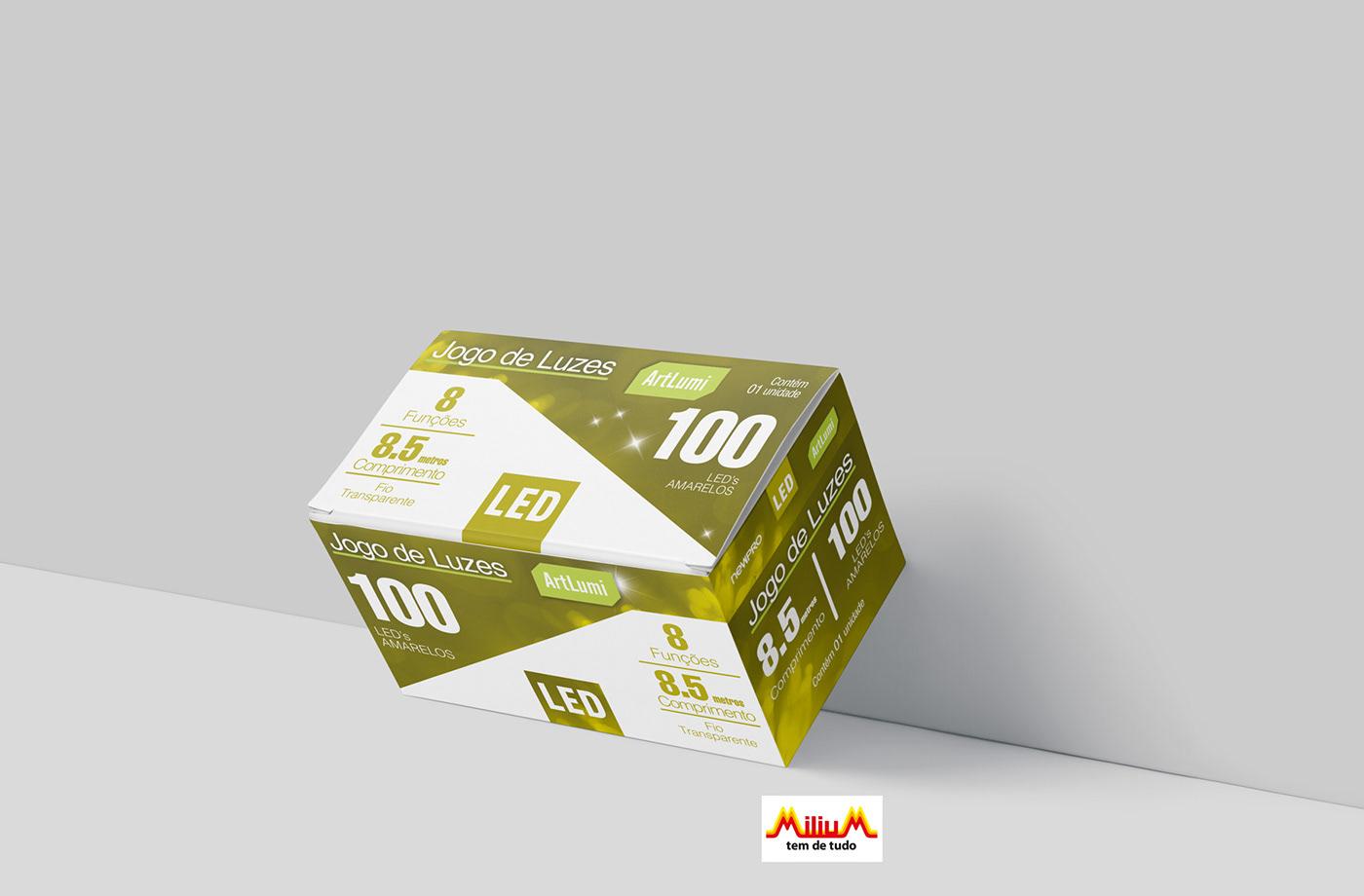 brand Caixa colorbox design embalagem grafico
