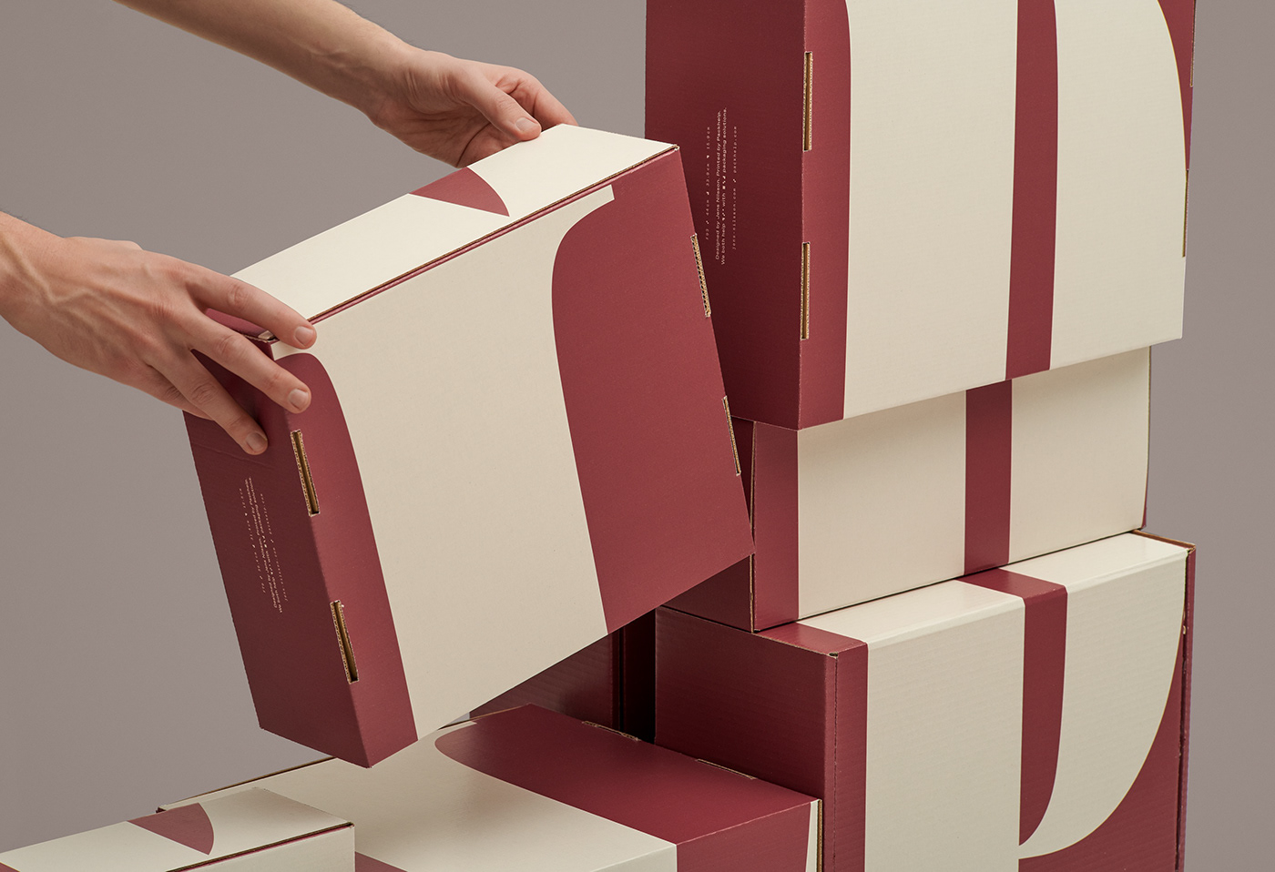 box Collateral help mailer box Packaging shipping box still life