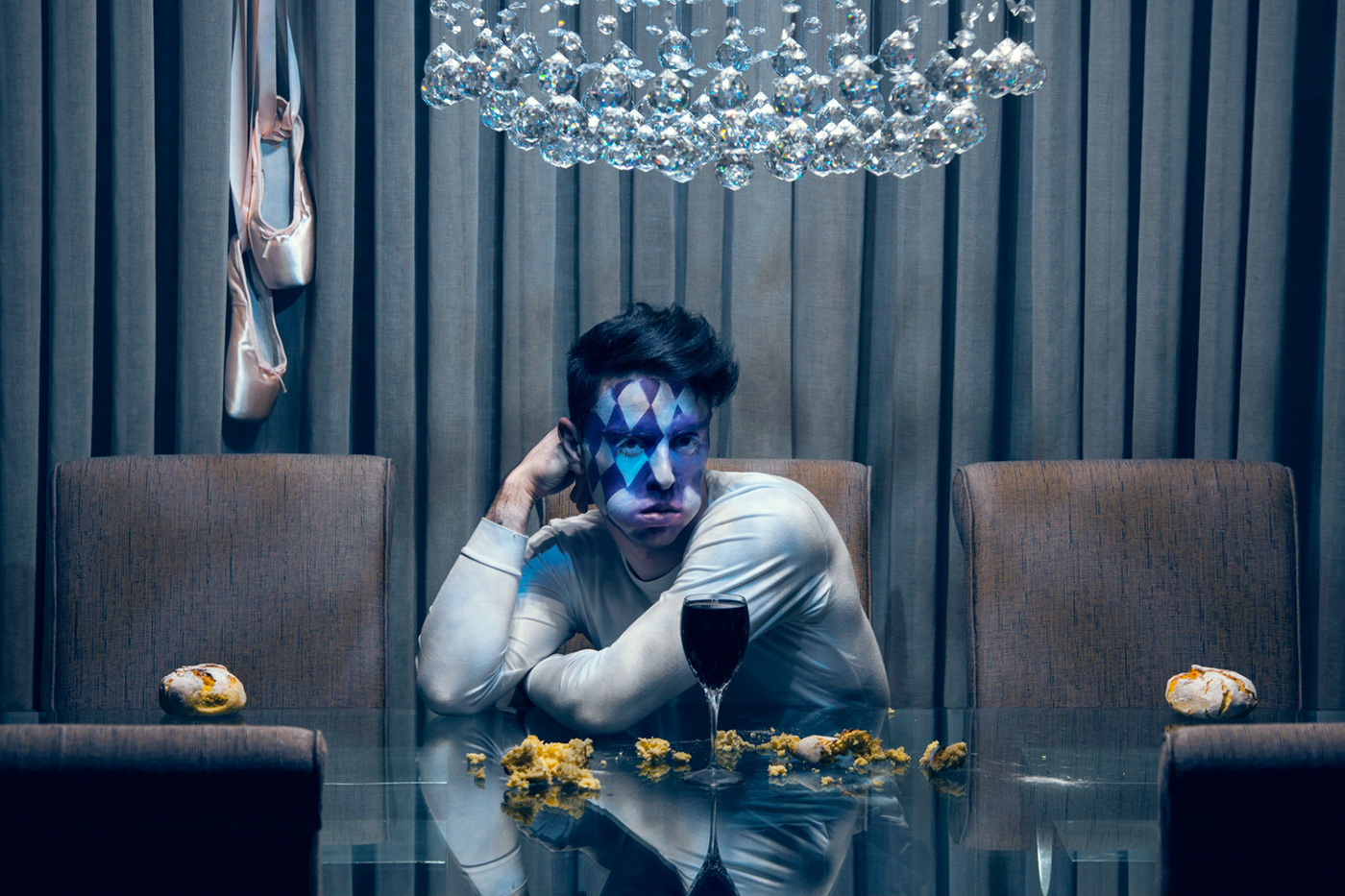 identity Gender LGBT surreal Photography  surrealism gay Posed staged Selfportraits