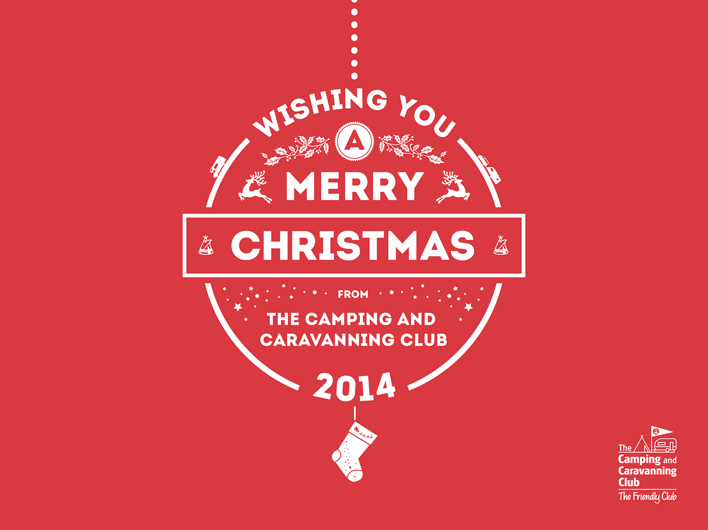 animated christmas card html5 on behance