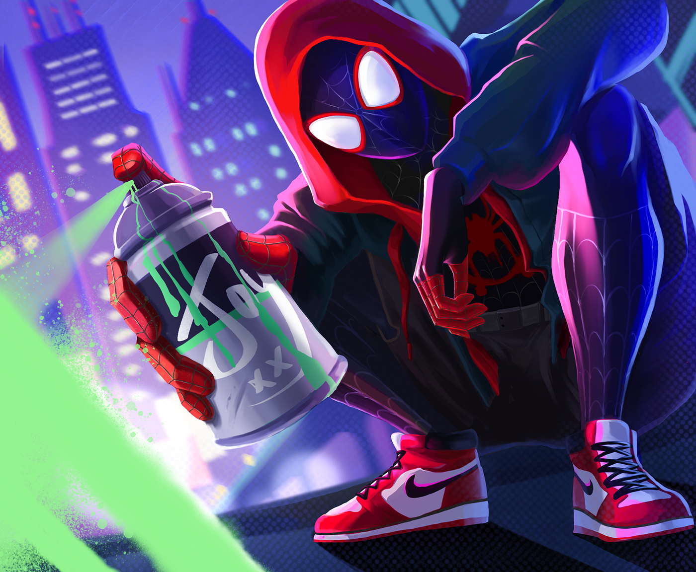 Into The Spiderverse On Behance