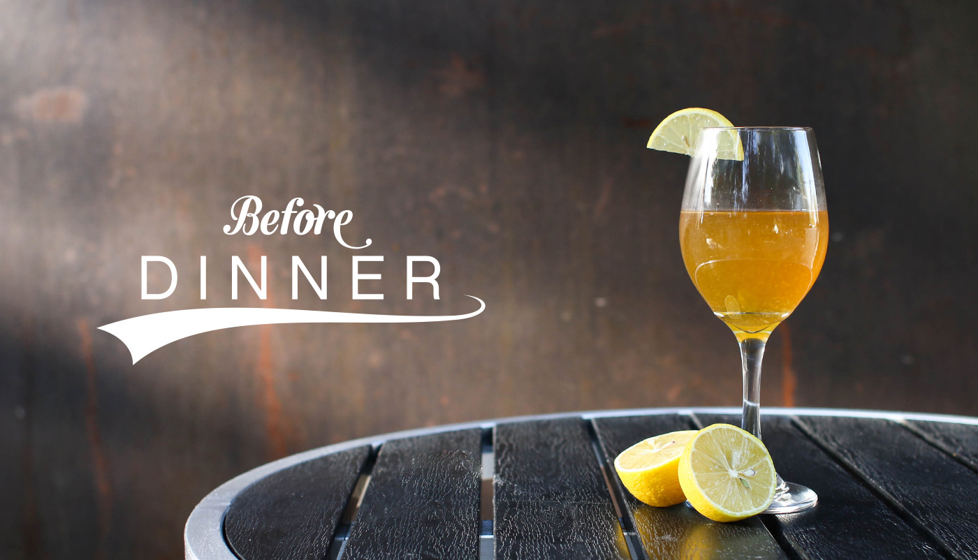 Before Dinner Food & Cocktail Photography + Logo on Behance