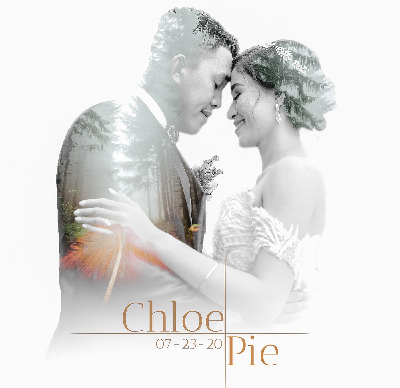 Image may contain: kiss, bride and wedding dress