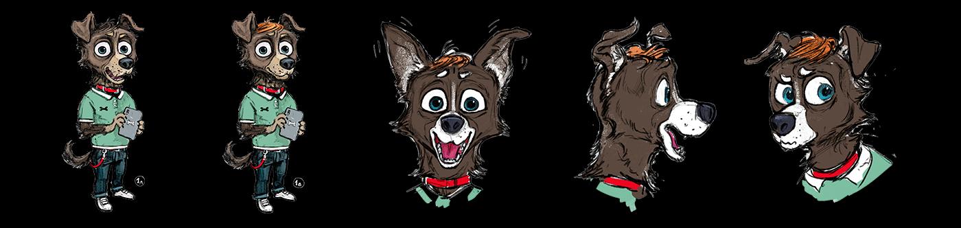 3D animation  characteranimation characterdesign Fur Maya modeling motion capture redshift yeti