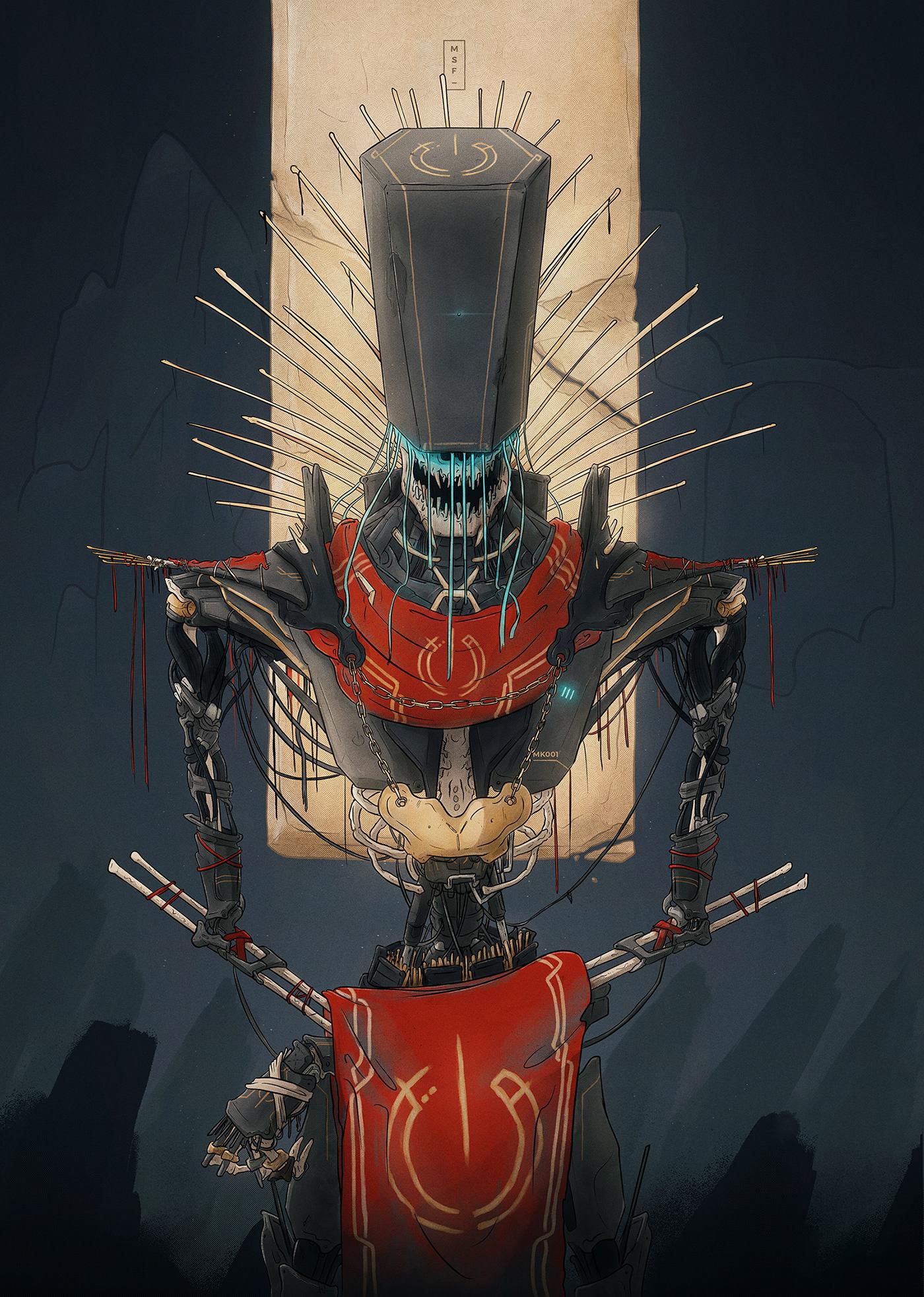 dictator print religion Cyborg church artificial intelligence future iPad priest