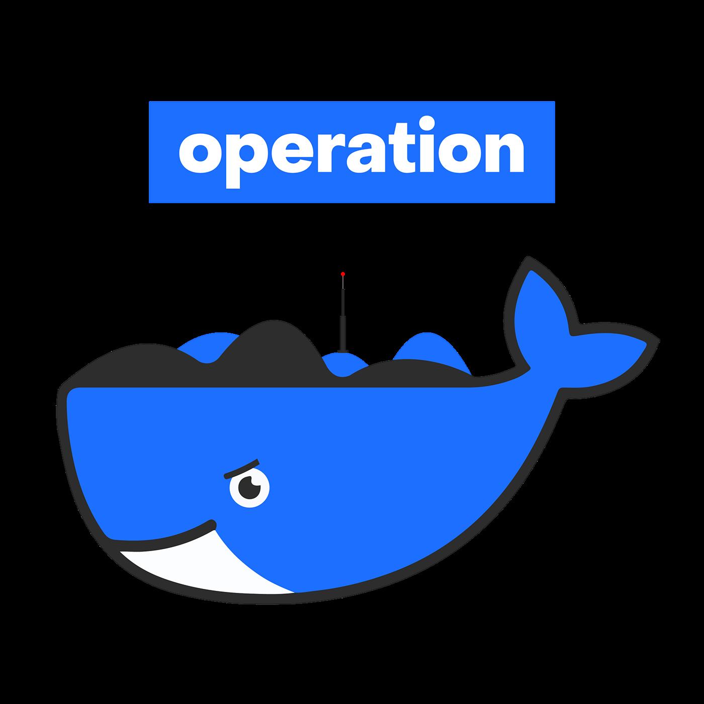 operation flat logo