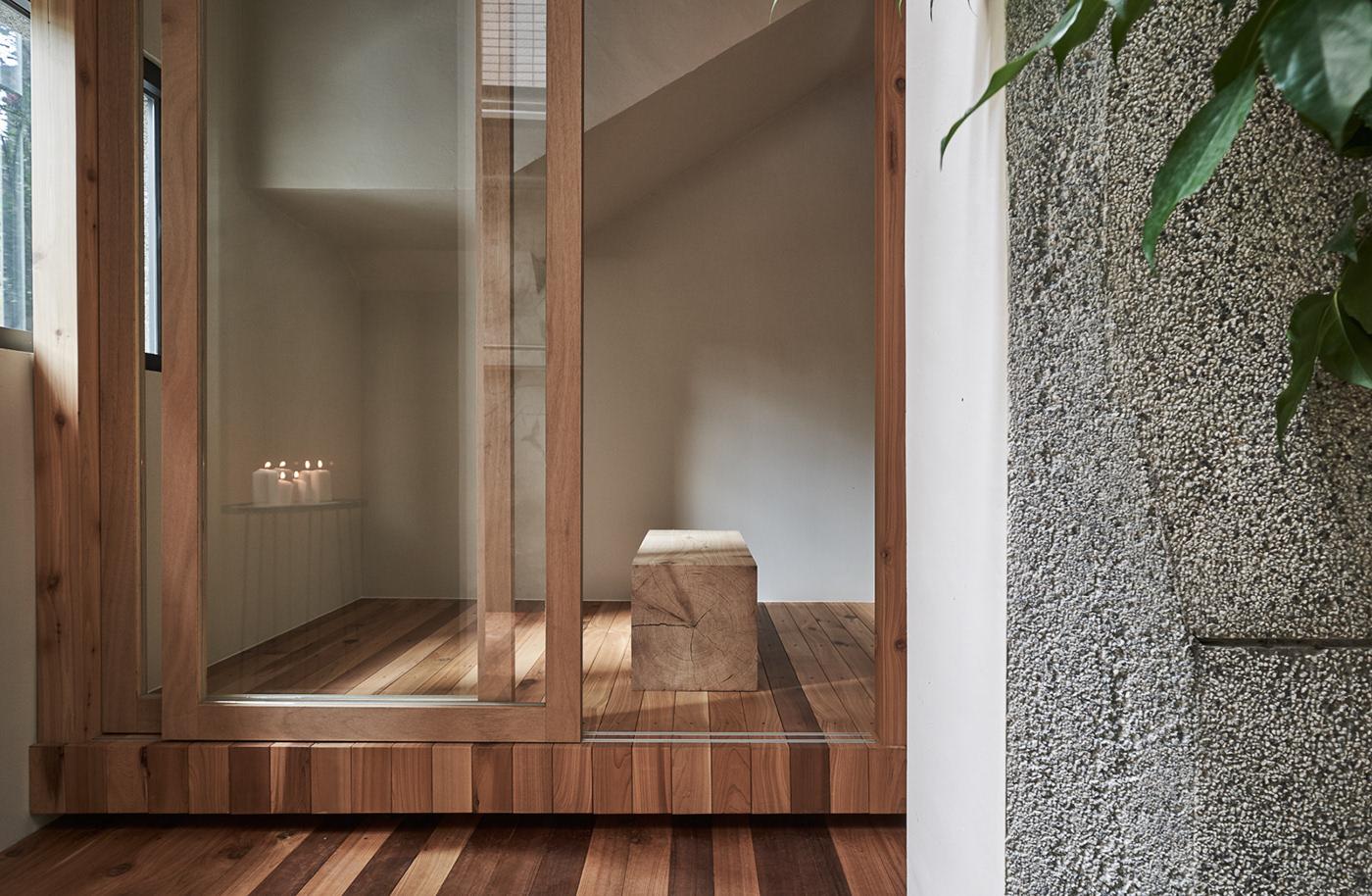 architecture Commercial Store heycheese interior design  renovation Soar Design store design taiwan wood mezzanine
