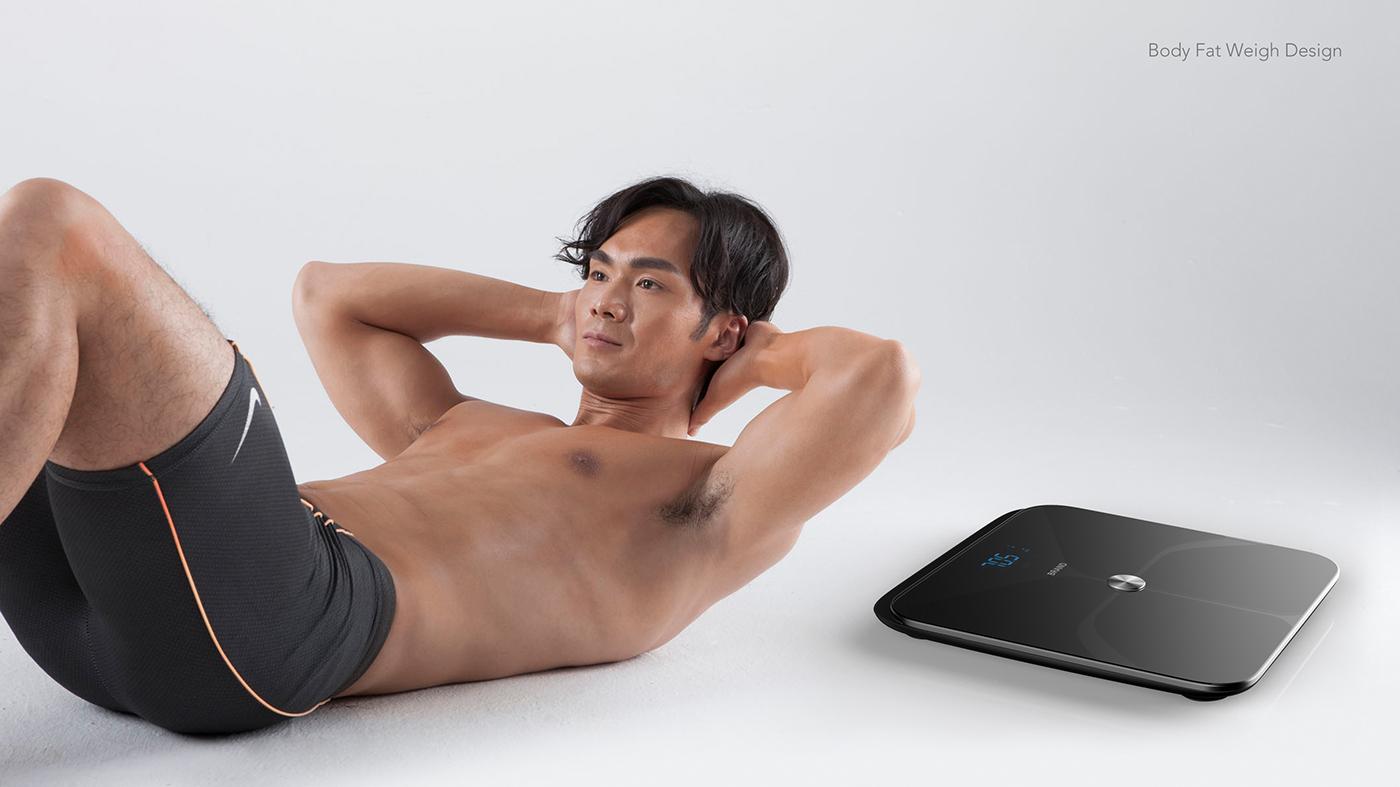 工业设计 产品设计 体脂 健康 运动 body fat weight healthy motion originality