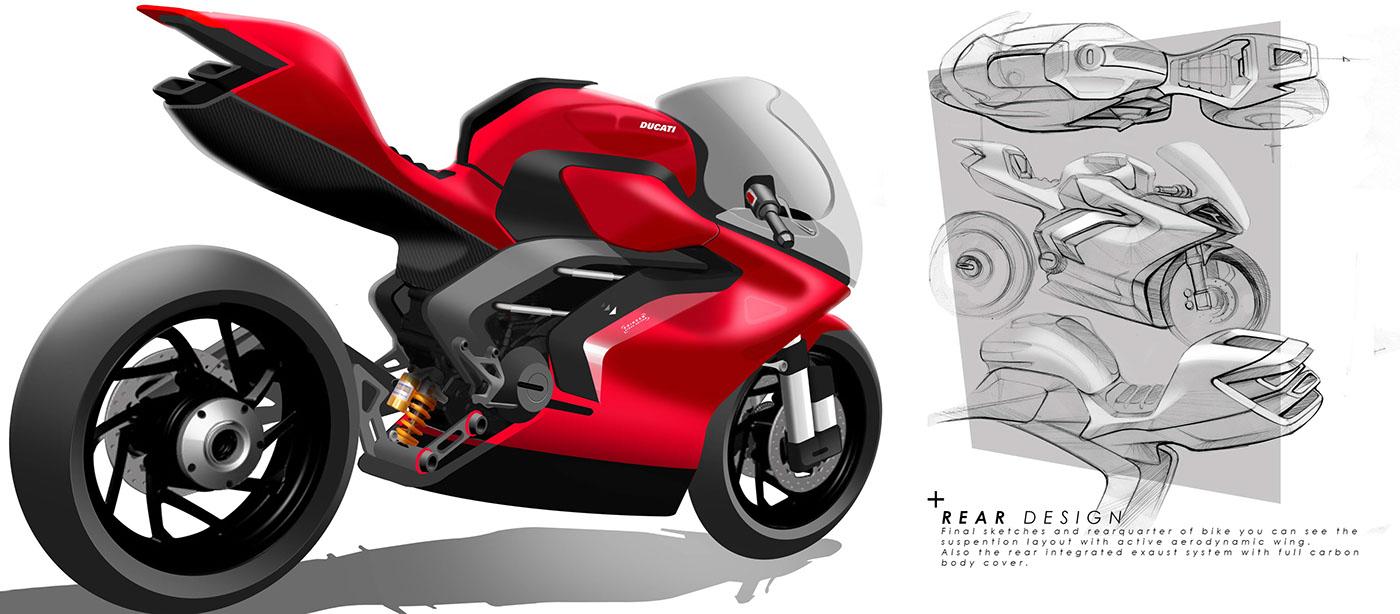 Ducati Aero On Behance