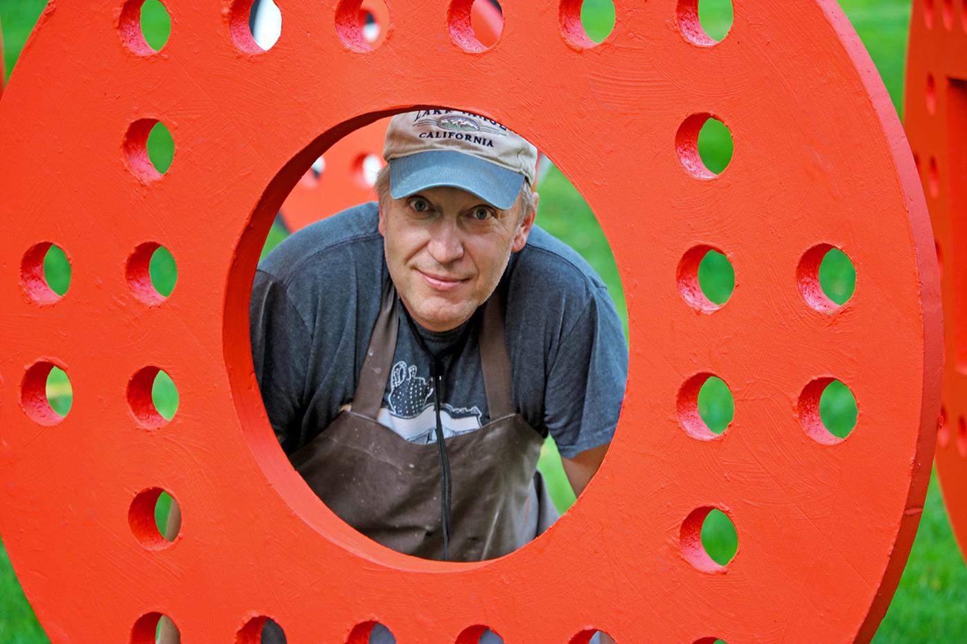 sculpture Outdoor Sculpture abstract sculpture polystyrene Governors Island Art installation New York public art