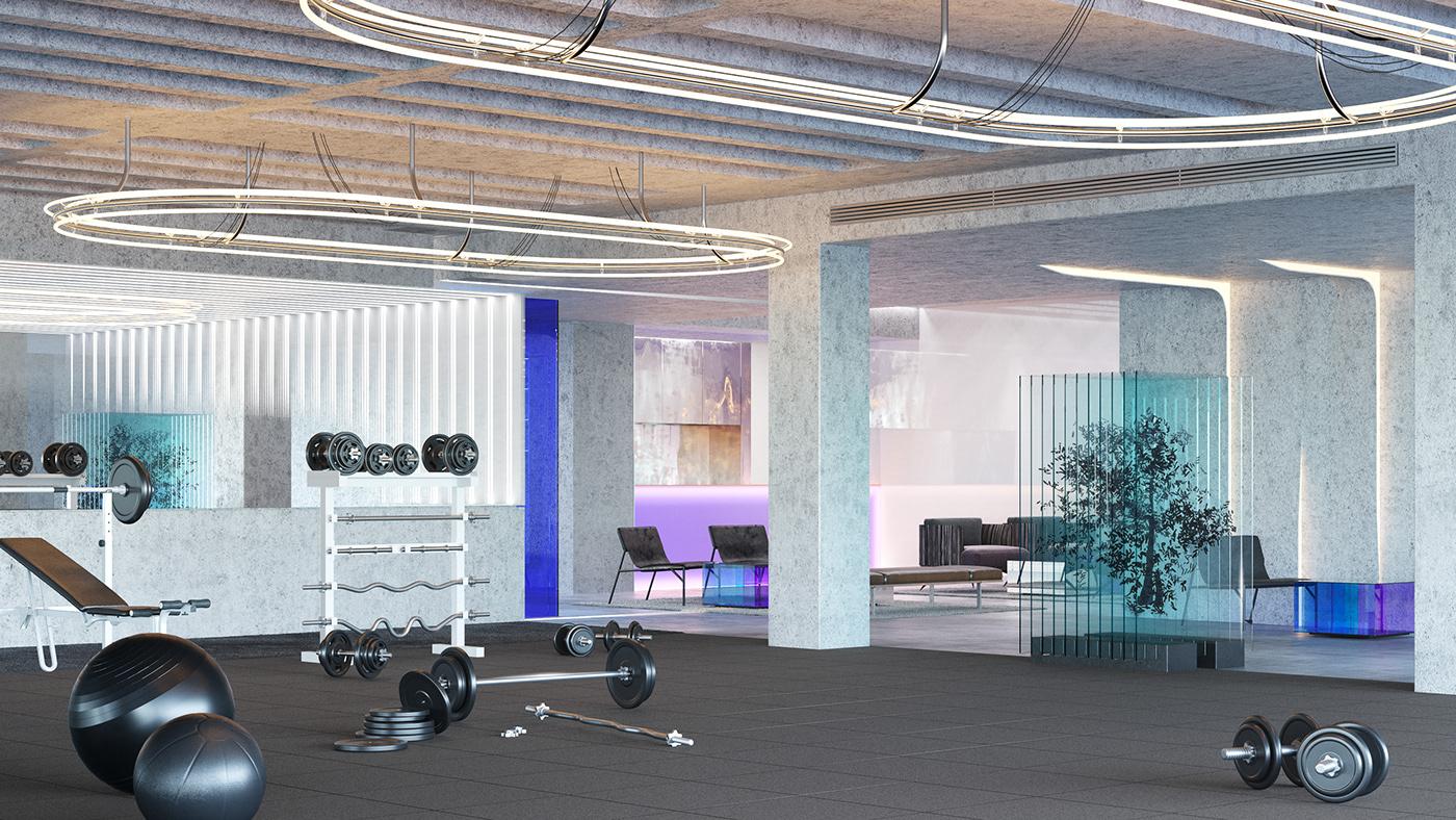 3ds max architecture corona render  Interior Render visualization