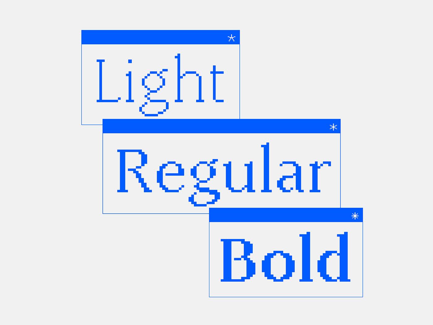 bitmap font serif Typeface typography   Display kawingan pixel Baybayin filipino