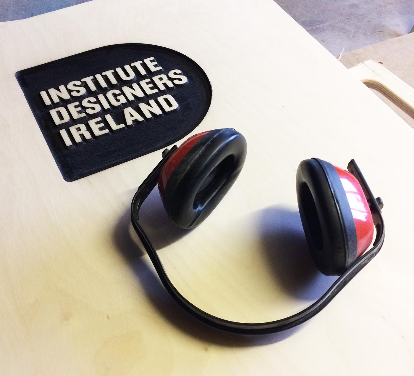 presentation lectern industrial design  product design  flatpack Irish design cnc Birch Plywood