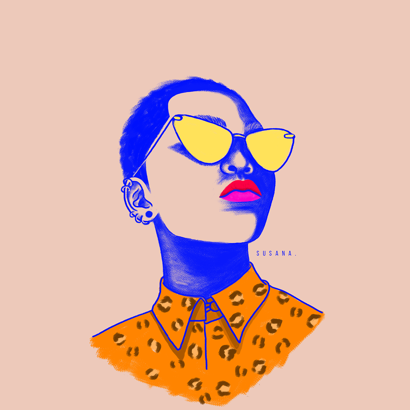 ILLUSTRATION ,Illustrator,photoshop,color,womancolor,illustrationwoman,colombia