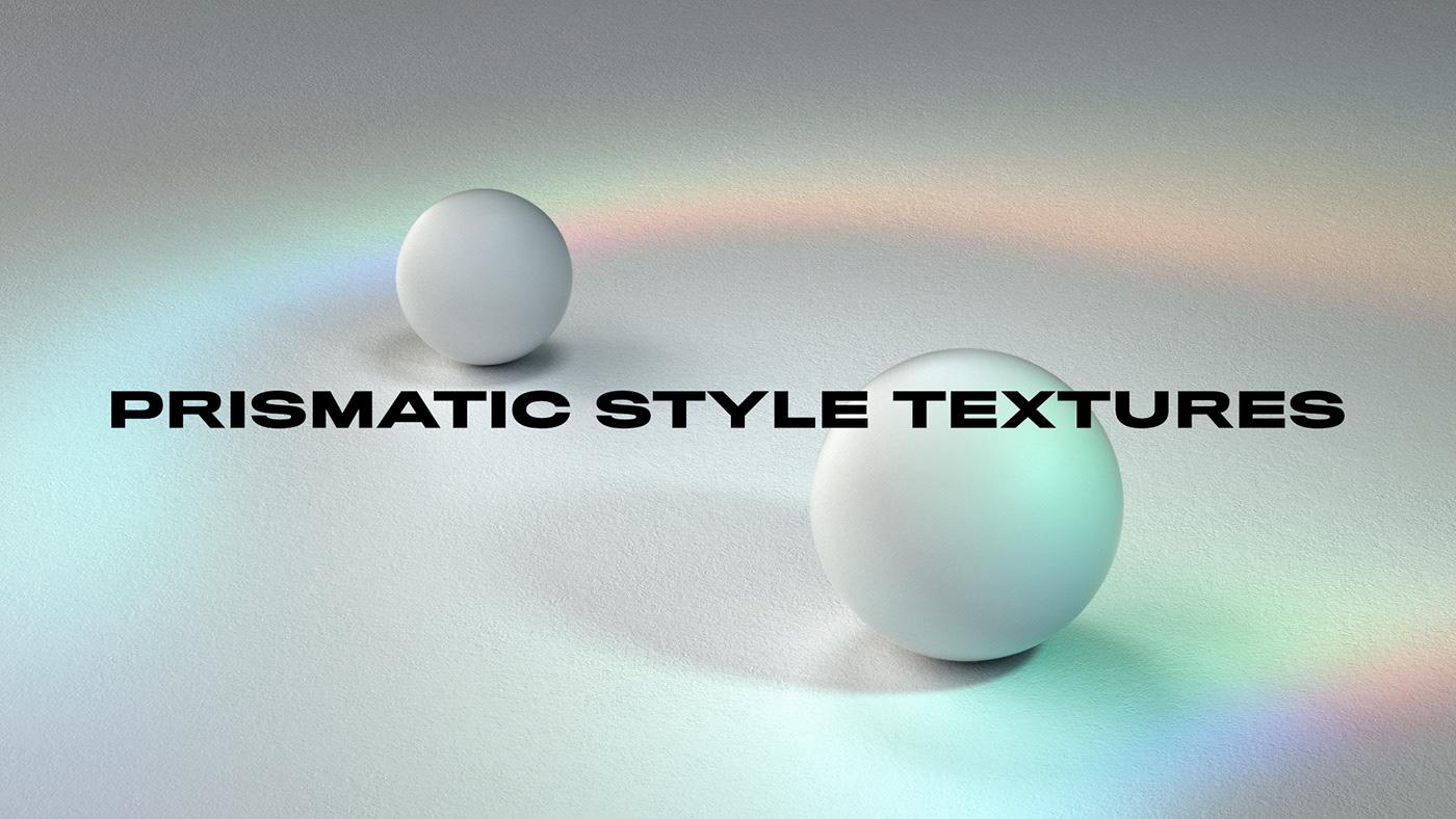 CGI cinema 4d gradient motion octane Prismatic redshift Render texture