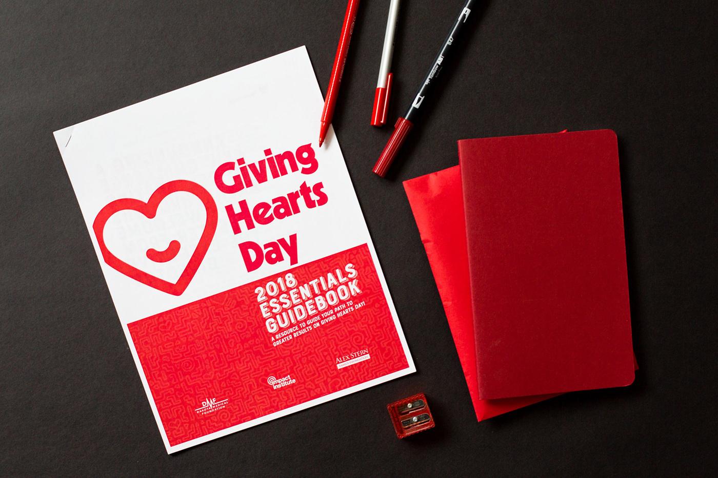 nonprofit print design  ILLUSTRATION  giving charity Layout grid nupolitan