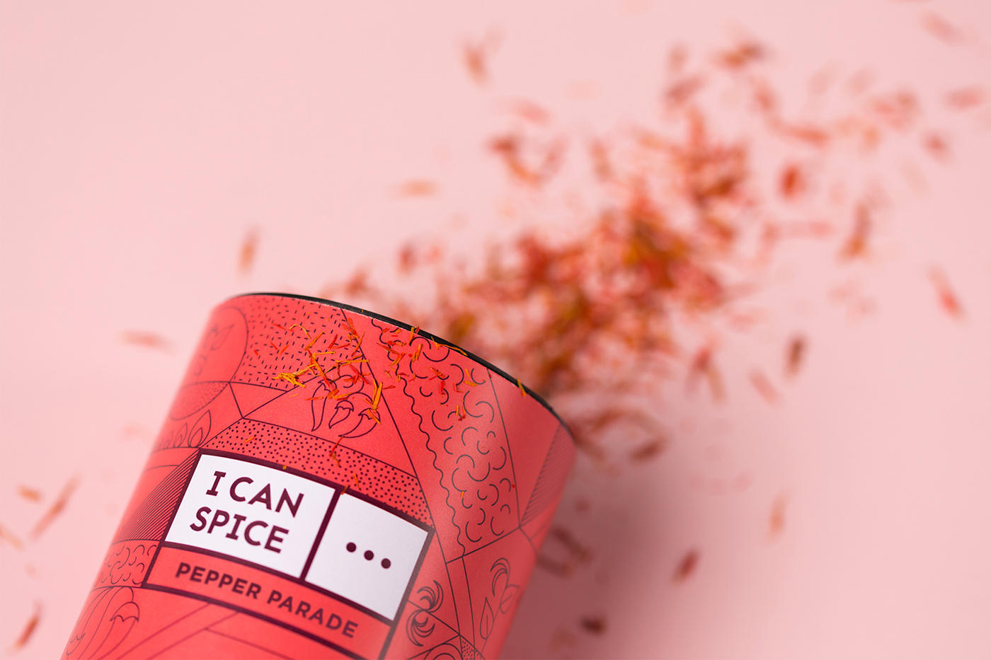 i can spice Packaging branding  graphic design  spice Culinary Food  cooking creative ILLUSTRATION