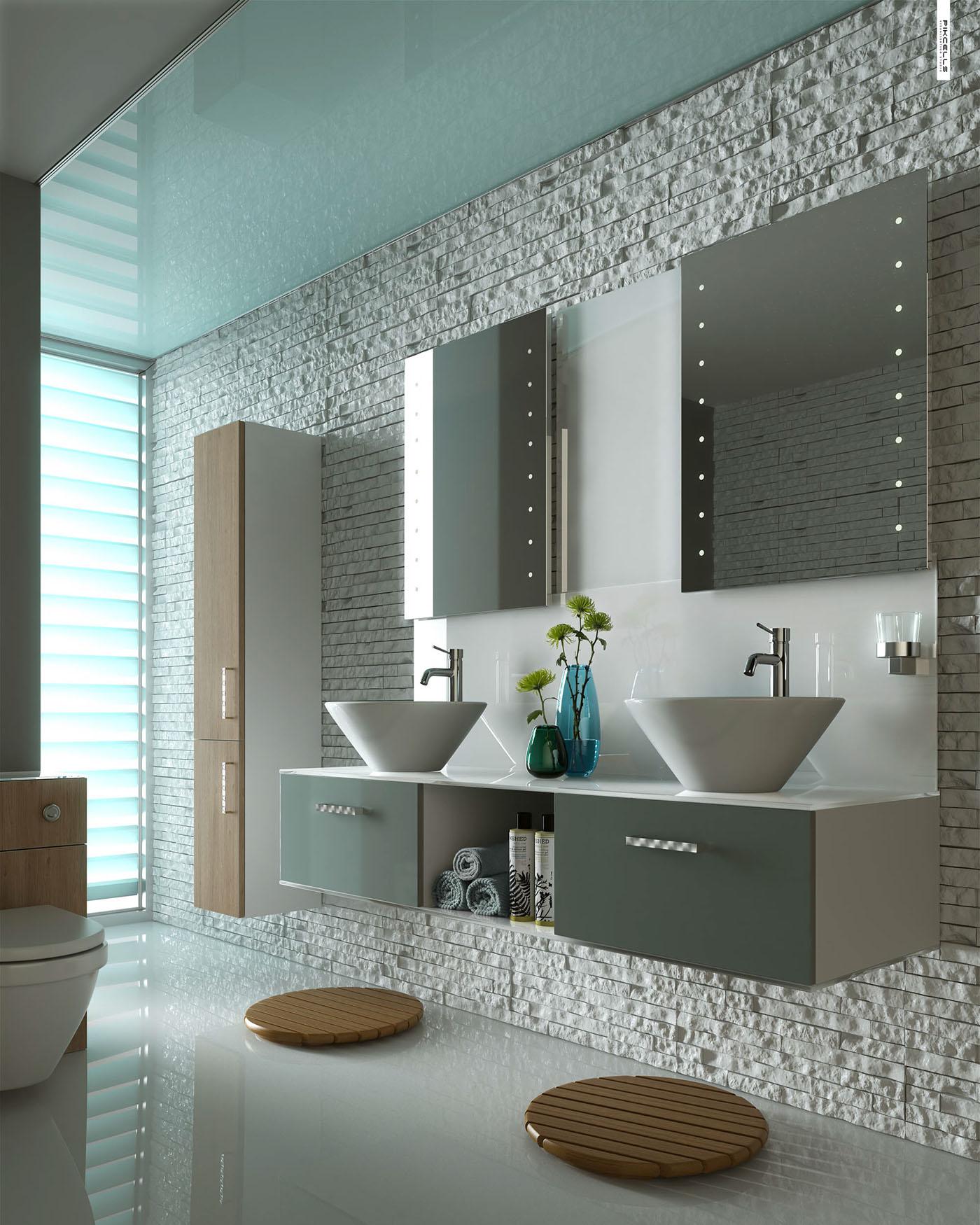 Bathroom Cgi Project On Behance