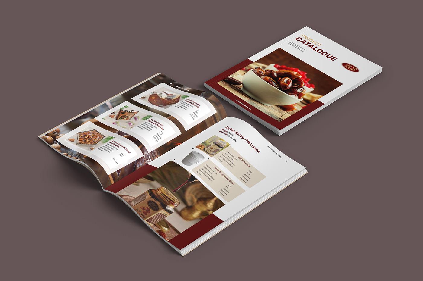 a4 design branding  catalog Catalogue dates export price print