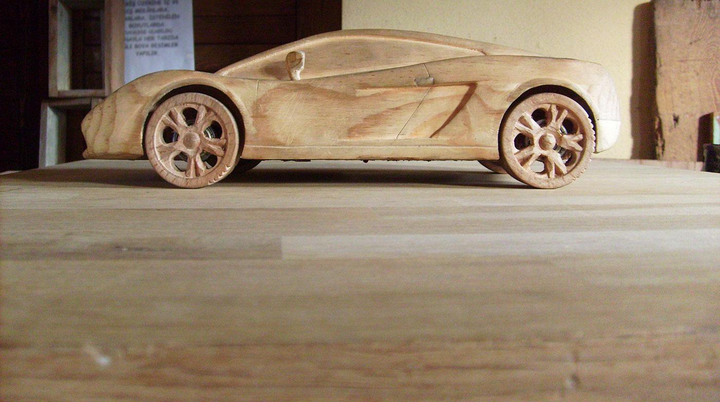 Lamborghini Gallardo Wood on Behance