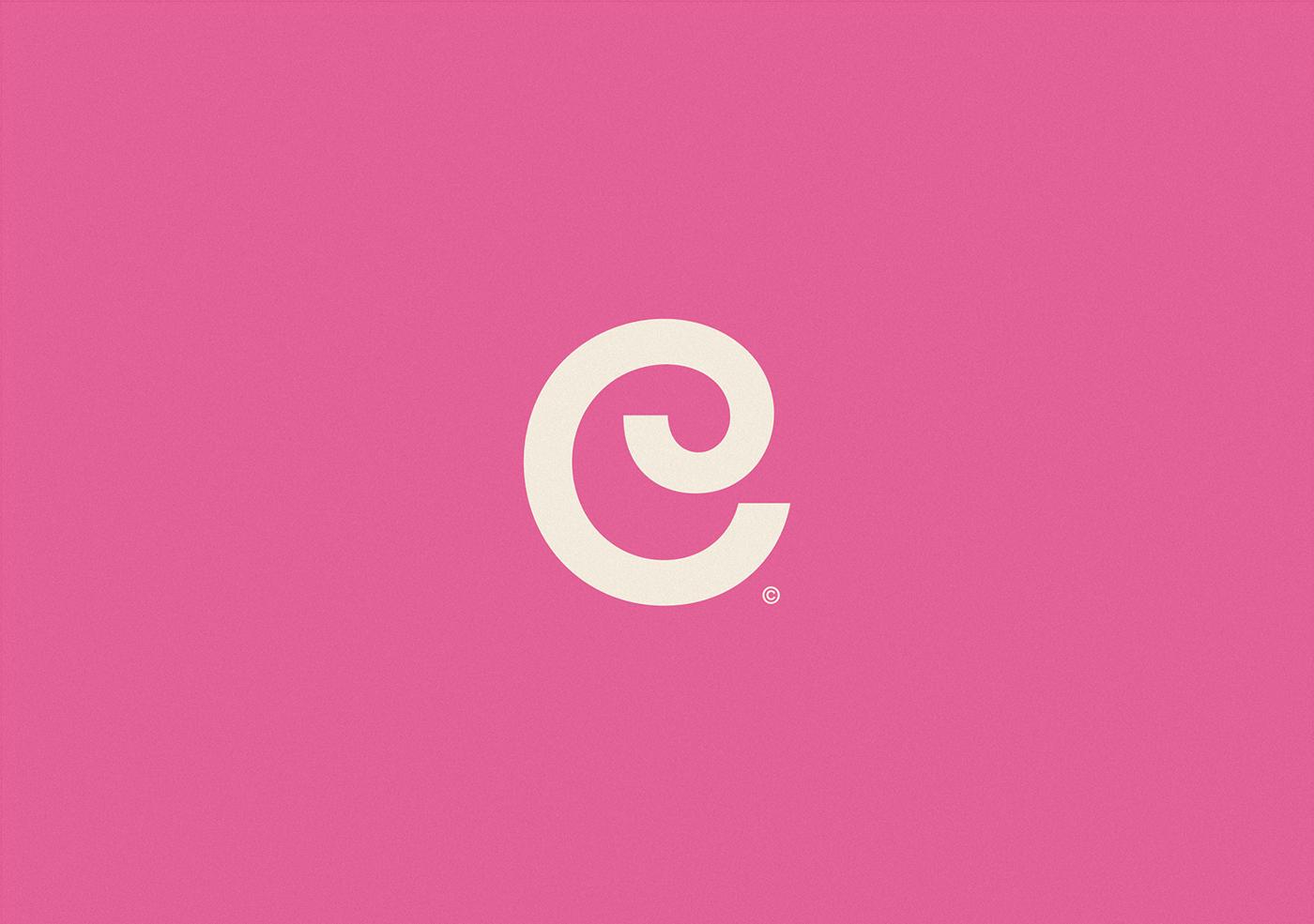 type identity clean minimal logo Logotype brand Layout Icon typography