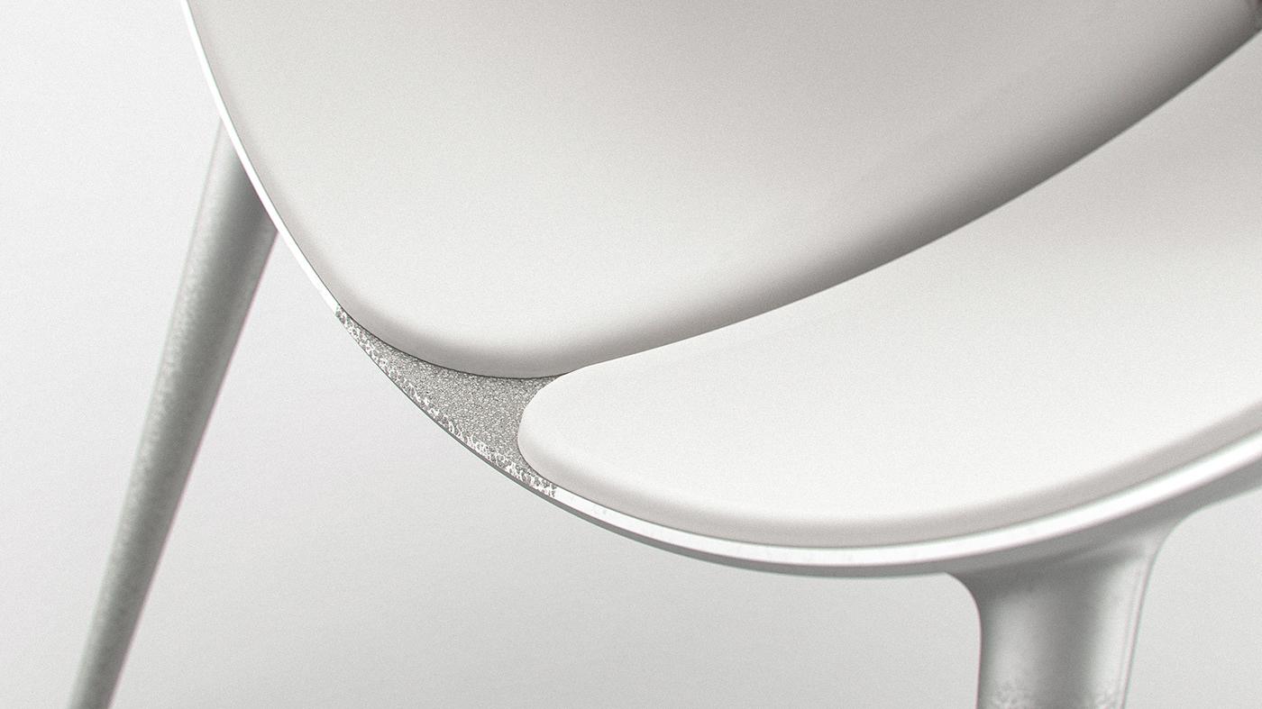 aluminum aluminum foam annabella hevesi chair Foam Grafuation kvadrat metal foam mome upholstery