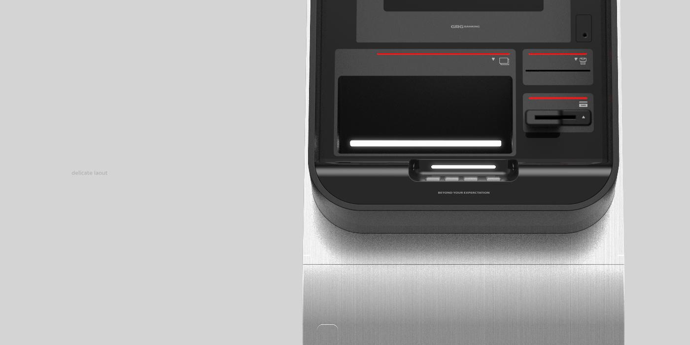 automatic teller machine design