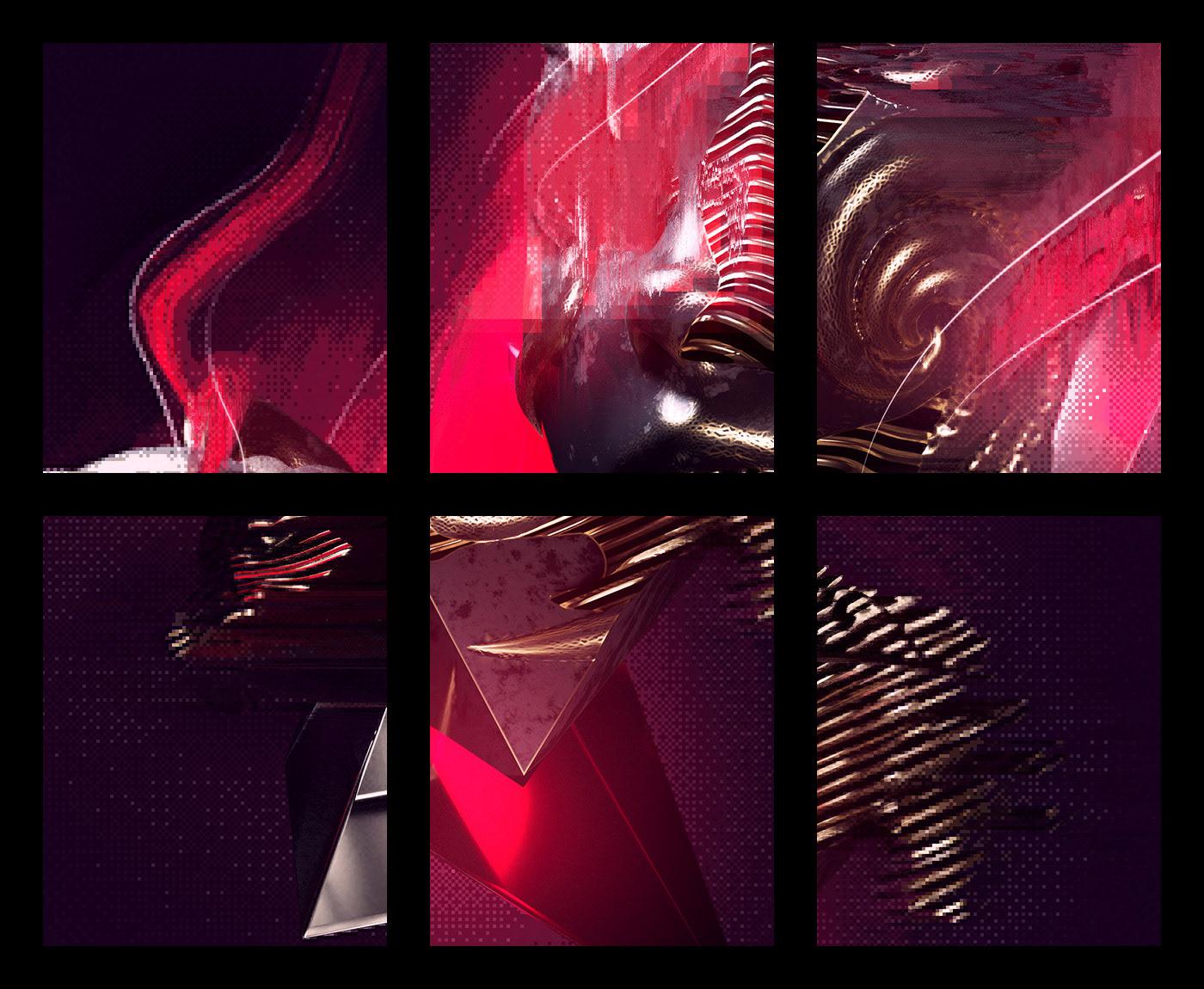 3D abstract octane