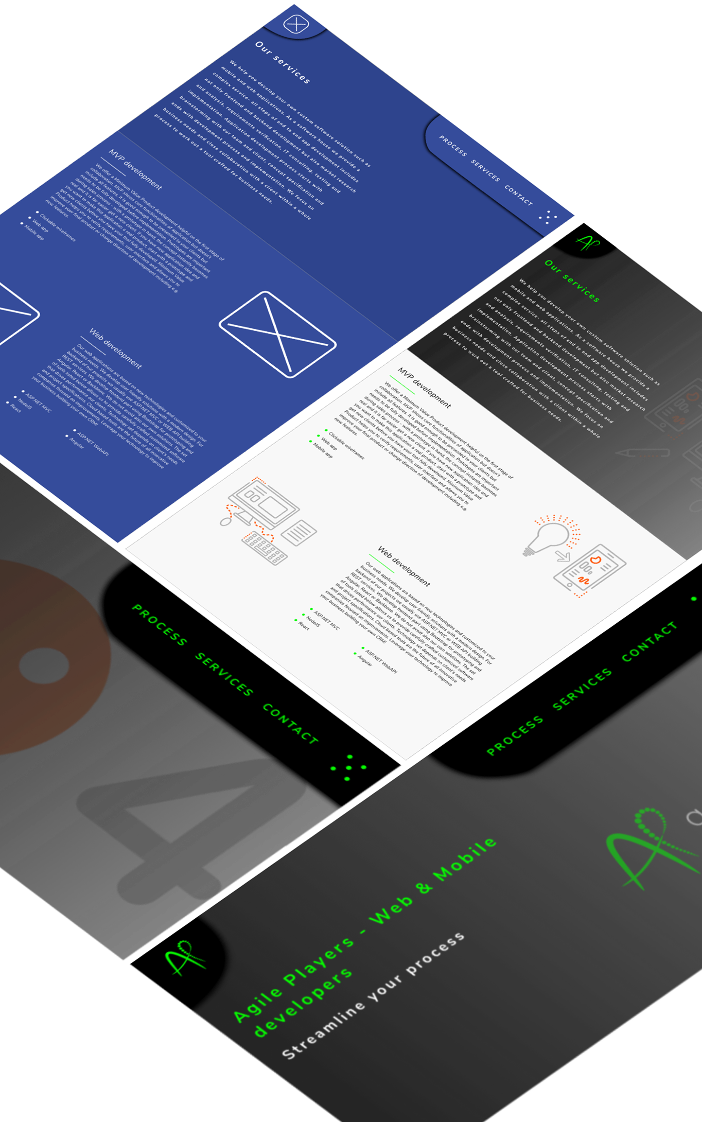 redesign agileplayers.com