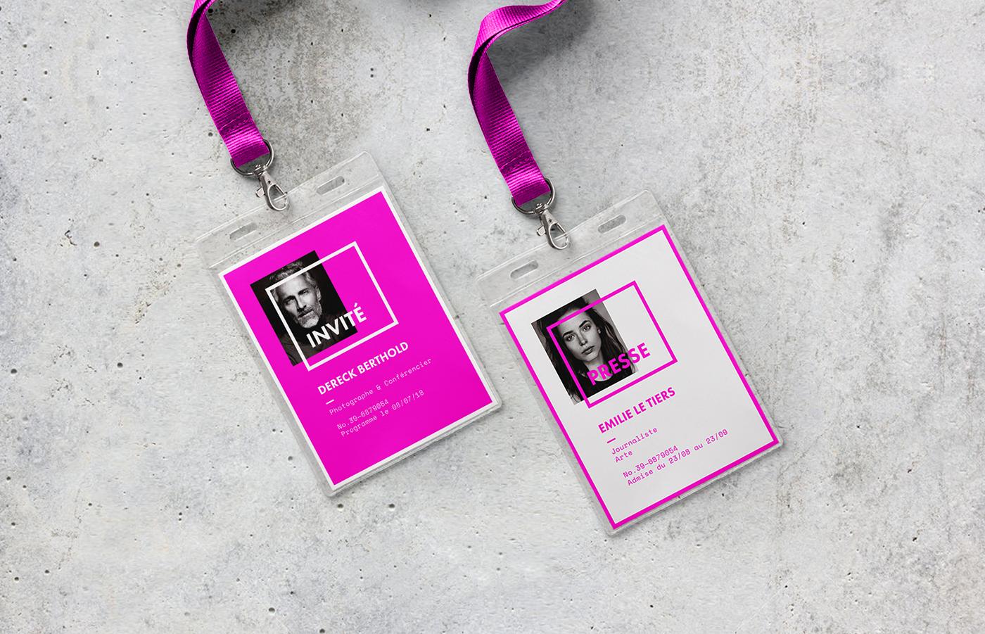 Photography  festival art arles Exhibition  modular identity geometric fluorescent contemporary