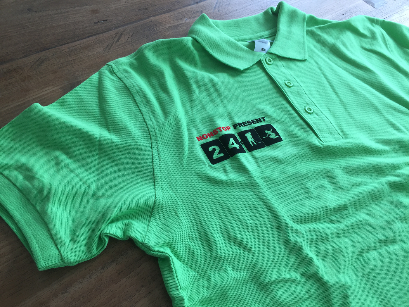 Image may contain: clothing, active shirt and sleeve