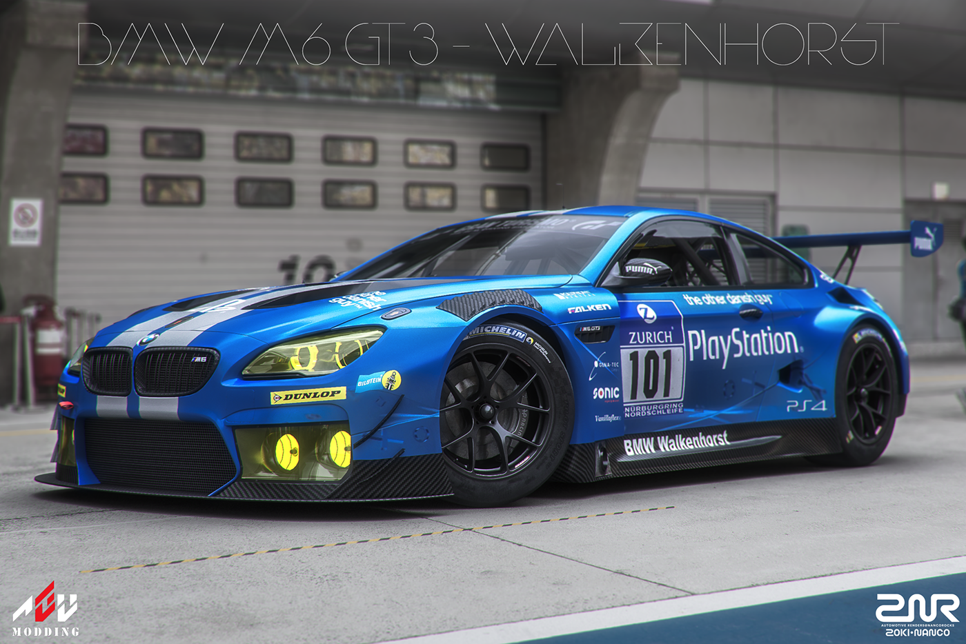 Bmw M6 Gt3 Walkenhorst On Behance