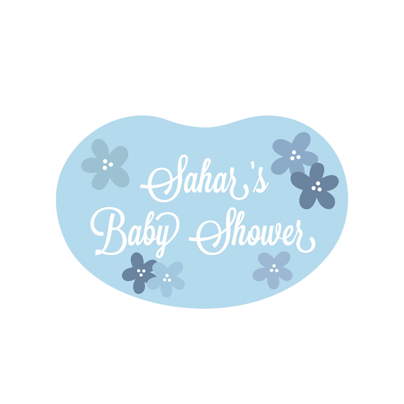 Sahars Baby Shower Logo On Behance