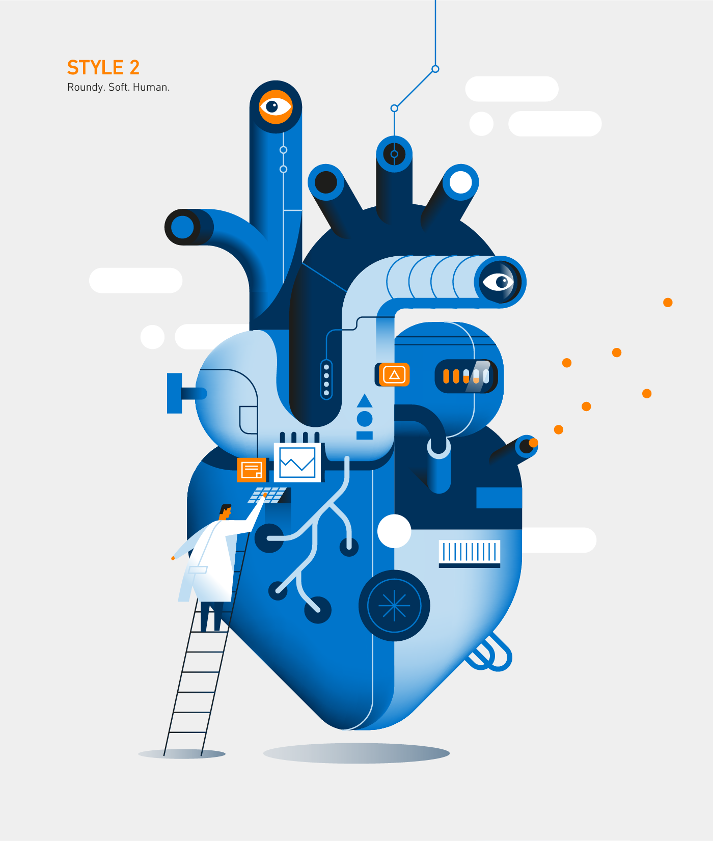 adobe illustrator Character design  Corporate Identity Digital Art  digital illustration ILLUSTRATION  vector vector art