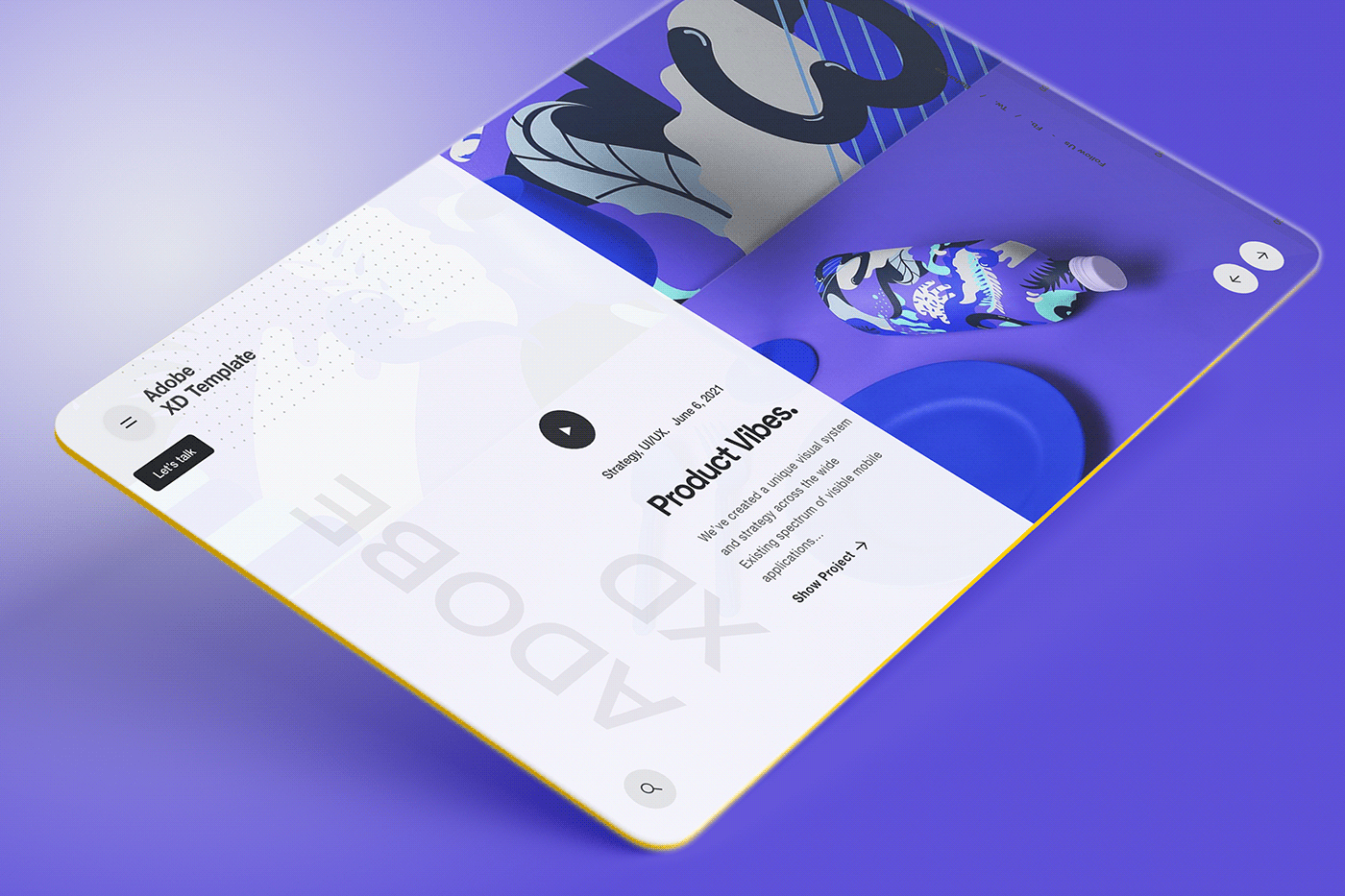 Adobe XD Webdesign