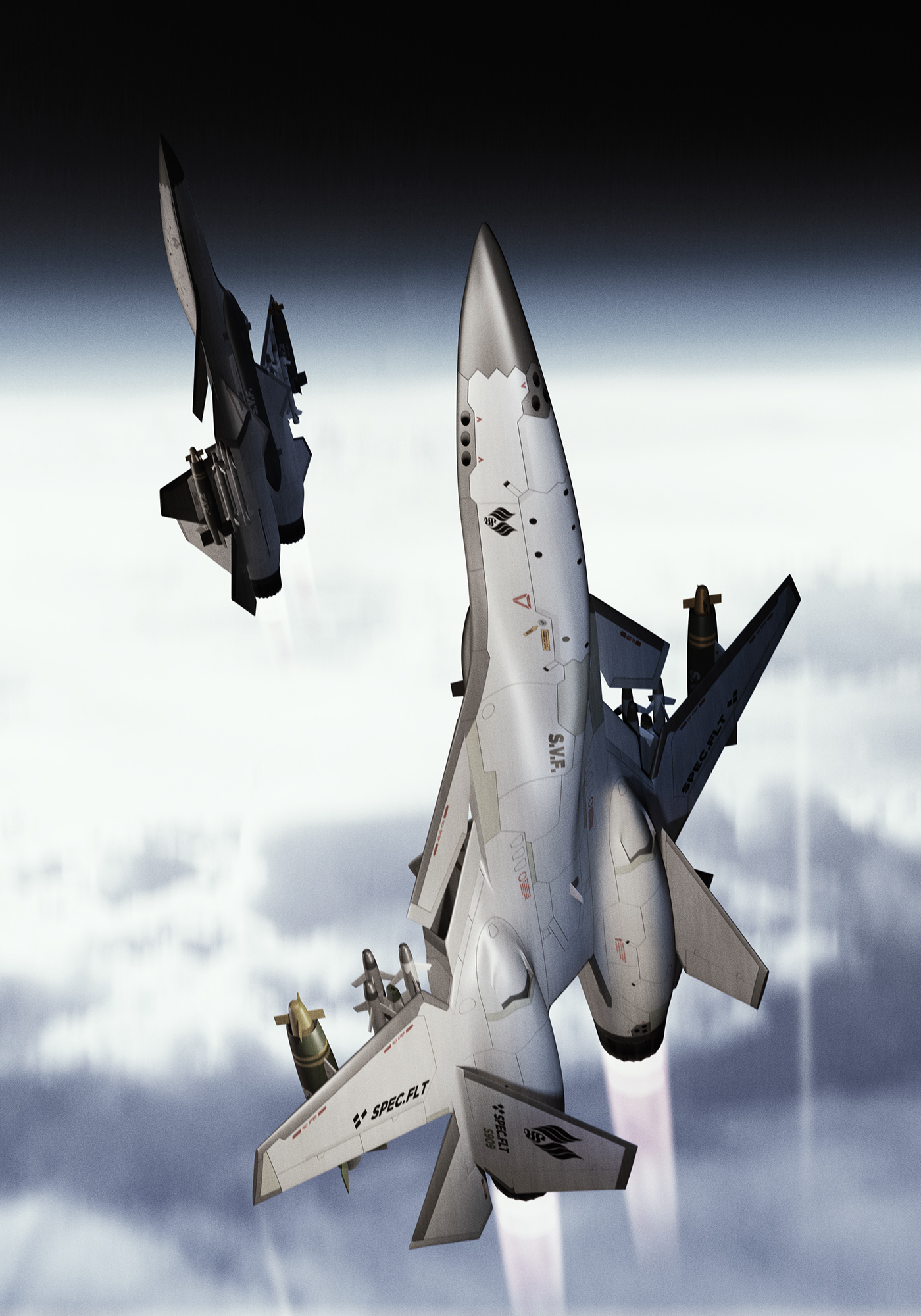 space fighter planes - HD 1400×2000