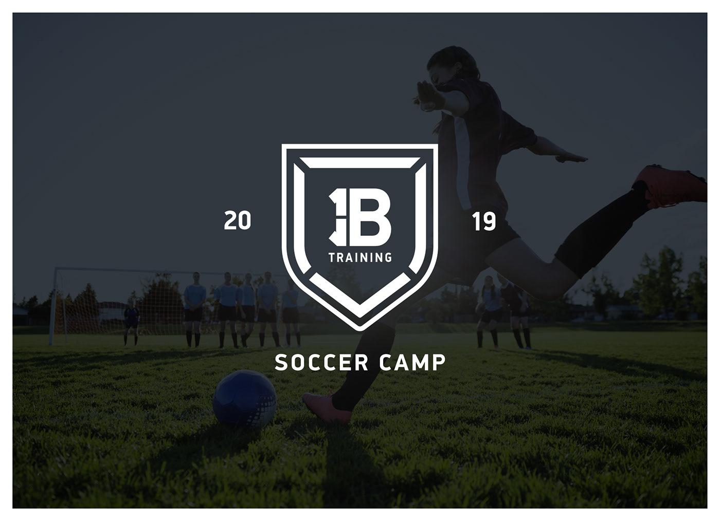 soccer branding  Futbol Sports Branding athletics training apparel