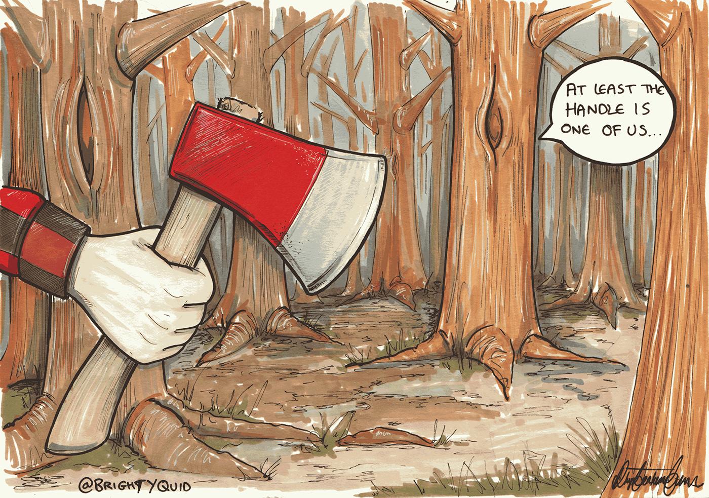 Cartoons editorial funny Meme