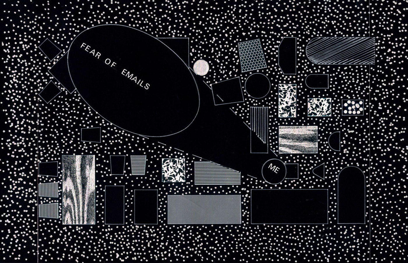 ILLUSTRATION  analog ink blackandwhite geometric